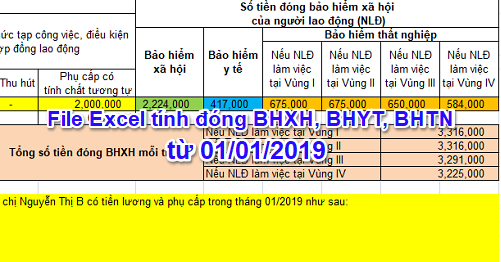 file excel tinh dong bhxh